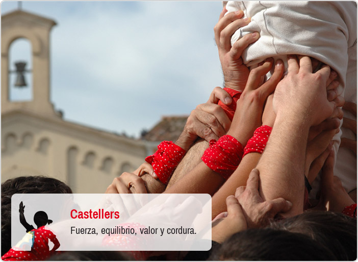 Castellers - Fuerza, equilibrio, valor y cordura