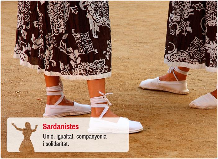 Sardanistes - Unió, igualtat, companyonia i solidaritat
